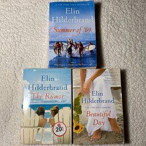 Elin Hilderbrand 3 Book Paperback Set